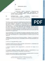 Presentación de Proyectos Fondo Soldicom Vigencia 2020