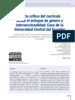 visión crítica del currículo