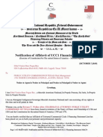 Ucc 1 Financing Statement Central Amexem Public Utility Commmission of Texas Macn-r000000219