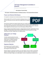 PoE Power Management Controllers in Power Sourcing Equipment