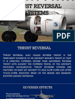Thrust reversal systems