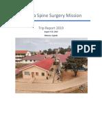 trip report final 2019
