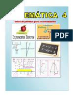 MATEMATICA 4 - CARATULA