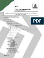 Tema 18 Lengua Literatura