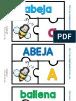 Aprendo El Abecedario JUEGO Puzzle Abecedario Terminado 1 22