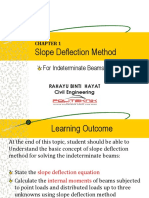 CC505_2 Slope Deflection Method for Beam