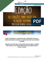 30 citações para fazer sua redação bombar! - Redação - Prof. Romulo Bolivar (1).pdf