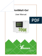 User Manual HortiMaX-Go! En