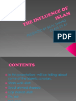 The Influence of Islam