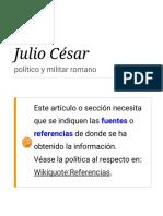 Julio César _ Frases Célebres