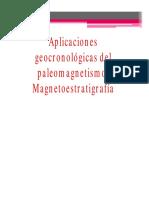 2014 Clase 11 Magnetoestratigrafia