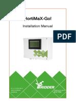 Installation Manual HortiMaX-Go! En