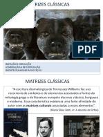 MATRIZES CLÁSSICAS Slide Epica-teatro-lírica