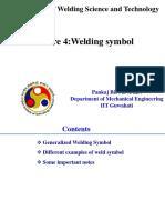 4 Welding Symbols ONLY