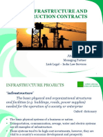 6. Infrastrucure Projects and Construction Contracts