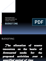 Budgeting (1)