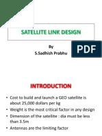 Satellite Link Design