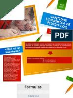 CANTIDAD ECONÓMICA DE PEDIDO EOQ.pptx