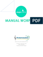 Manual Wordpres Semovasalud