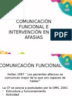Comunicación funcional e intervención en las afasias