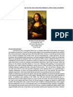 A Painting Analysis of Mona Lisa