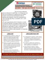 2019-09 Tuberías y Equipos Taponados - Más Que Una Molestia
