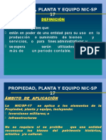 269730900 Propiedad Planta y Equipo Nic Sp 17