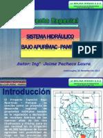 Sistema Hidráulico en Apurimac