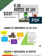 Examen de Componentes Eeff