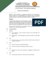 Guidelines Dramatic Choric Speaking_Impromptu Speech