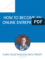 How to Become an Online Entrepreneur eBook V2