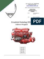 Katalog DTP Peugeot Indenor 2015
