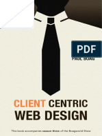 Client Centric Web Design