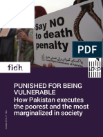 PUNISHED FOR BEING VULNERABLE How Pakistan executes the poorest and the most marginalized in society