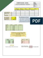 taller funciones básicas en Excel