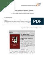 RP Gheo - Analele UVT - Parcursul Romanesc al lui ACodrescu