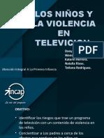 EXPOSICION PADRES DE FAMILIA los niños y la violencia en television.pptx