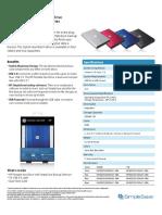 HP Portable Hard Drivep2050 & p2100 series
