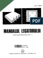 Manualul Legătorului M.N. Nestor C. Radu
