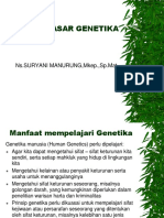 Dasar-dasar Genetika Revisi Sep 2016