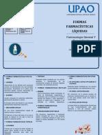 FORMAS FARMACÉUTICAS LÍQUIDAS