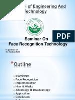 Seminar Face Recognition Technology