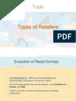 Type of Retailers