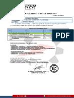 Presupuesto 00520- Instalación de Geomembrana Hdpe - 05-12-2018