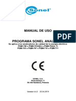 Sonel Analysis 4 Manual v442 Es