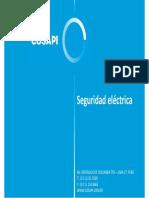 Curso Seguridad Eléctrica