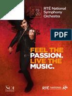 RTÉ National Symphony Orchestra 2019-2020 Season