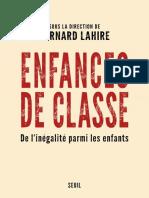 Enfances_de_classe Lahire_Bernard