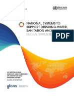 National Systems to Support Drinking-water Sanitation and Hygiene Global Status Report 2019
