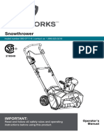 Yardworks Manual
